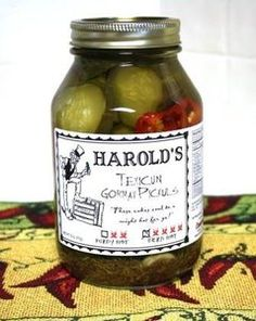 Harold's Spicy (4X Super Hot) Habanero Zesty Garlic Dill Pickles Dern Hot Pickuls (16 oz).  Best described as firm but delightful. Harold's 4X contain 4 butterflied fresh habanero peppers in the same garlic and dill base that Frances Cowley possesses. Hard to believe a pickle the caliber of Frances Cowley can be improved on but if you like spicy, salty and garlic these are for you.