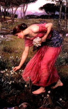 Narcissus by John William Waterhouse