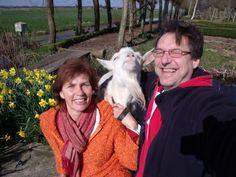 Een selfie en weer wint de geit