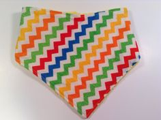 A personal favorite from my Etsy shop https://www.etsy.com/listing/203089449/primary-chevron-print-reversible-minky