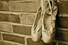 photograph of my aunt nikki's ballet shoes:    photography by emily swift
