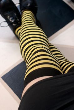 Striped Stockings, Striped Tights, Girl Photo Poses, Girl Photos, Snug Shoes, Goth Dress, Leg Avenue, Fashion Socks, Pretty Outfits