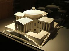 Model in Museum, Arc et Senans - Claude Ledoux