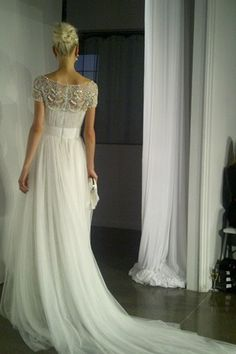 As the fashion world waits for fashion month each season, so we wait with baited breath for the marvel that is New York Bridal Market, as seen on BridesMagazine