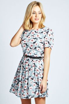 Pretty floral dress for spring
