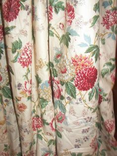 Vintage-Custom-French-Country-Victorian-Chic-Shabby-Floral-Chic-Drapes-Curtains