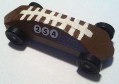 Football derby car...cub scouts