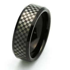 Valentines Day 8MM Comfort Fit Tungsten Carbide Wedding Band Check Pattern Ring For Men & Women (5 to 15) Cobalt Free Double Accent. $19.99. Cobalt Free. Tungsten Wedding Band. Prompt Shipping. Comfort Fit