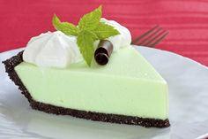 Chocolate Mint Pie (Raw Vegan)