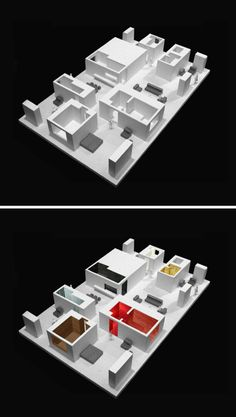 David Chipperfield Architects, Christian Richters, SHU He · Ninetree Village Architecture Drawings, Concept Architecture, Contemporary Architecture, Interior Architecture, Crea Design, David Chipperfield Architects, 3d Modelle, Arch Model, Environmental Design