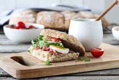Yoghurt, Sandwiches, Food And Drink, Favorite Recipes, Baking, Ol, Bakken, Bread, Backen