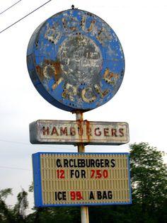 Blue Circle Hamburgers | Flickr - Photo Sharing!
