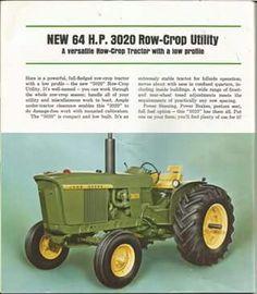 JOHN DEERE 3020 & 4020 Brochure