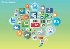 redes sociales - Buscar con Google