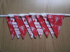 Scandi-Nordic-Style-Christmas-Bunting-Red-and-White-Double-Sided