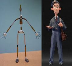 stop motion armature