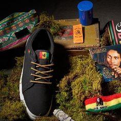 DVS Shoes, DVS Aversa Black/Rasta Canvas