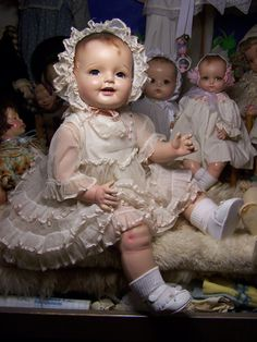 Composition doll restoration-Lovums Disaster & Restoration - Swankykitty
