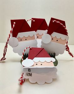 Christmas Gift Wrapping, Christmas Paper, Handmade Christmas, Christmas Projects, Holiday Crafts, Theme Noel, Christmas Decorations, Christmas Ornaments, Santa Gifts