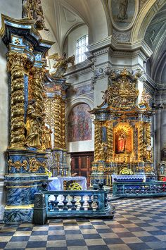 Church of St. Bernard's, Krakow, Poland. Go to www.YourTravelVideos.com or just click on photo for home videos and much more on sites like this.