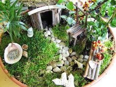 ..❤ Coisas de Laddy ❤..: Terrários e Mini Jardins