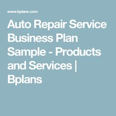 Auto repair and car wash business plan sample contingency plan auto repair and car wash business plan sample contingency plan bplans abelreeves pinterest car wash business contingency plan and car wash wajeb Image collections