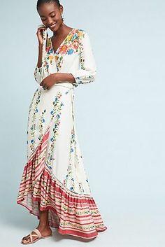 Farm Rio Springtime Wrap Dress