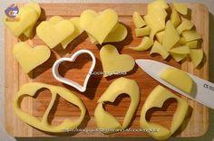 patate a forma di cuore | cooking giulia | contorno | cena di san valentino | ricetta facile per san valentino