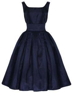 Amazon.com: Lindy Bop 'Lana' Classic Elegant Vintage 1950's Prom Dress Ball Gown: Clothing