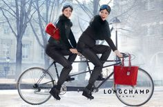 Coco Rocha for Longchamp spring summer 2013 by Max Vadukul