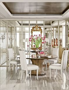 Dining Room Decor – Before and After Dining Room Design Photos | Architectural Digest