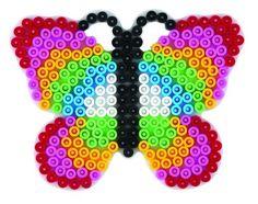 Schmetterling Hama Perlen