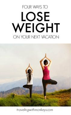 I don't know about you, but just thinking about a holiday vacation seems to make me gain weight. Many times I have worked my butt off (literally) to look better for a Thanksgiving getaway or Christmas cruise, only to sabotage my effort while on that trip.....| Traveling with Kids | Lose Weight on Vacation