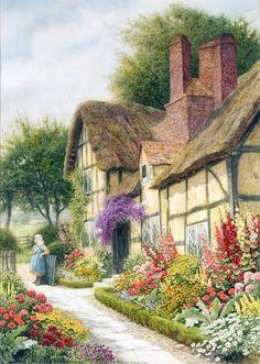 Styl cottage- Arthur Claude Strachan