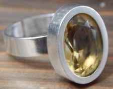 Vtg Mid Century Modern Sterling Silver Finland Elis Kauppi Ring Adjustable Size