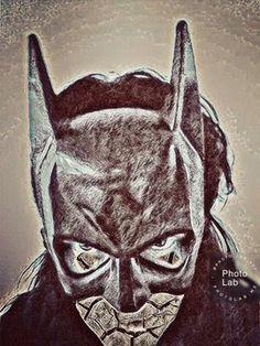 Satu Ylävaara Retrospective Art: Minä tulin Gothamista Rocky Horror, Batwoman, Snow Queen, Gotham, Banks, Graffiti, Superhero, Fictional Characters, Art