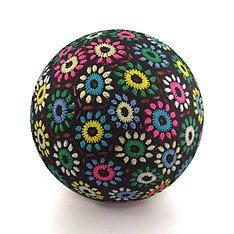 yoga ball med multi flower