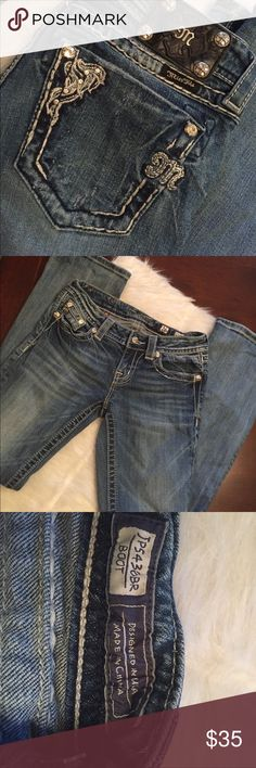 Miss Me Boot Cut Jeans Miss Me Boot Cut Jeans. They are previously loved but have a lot of life left! Miss Me Jeans Boot Cut