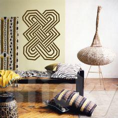 afro chic interior design -  -Google