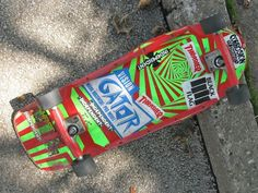 """Vintage Vision """"Gator"""" Skateboard"""