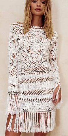 Harlow crochet dress