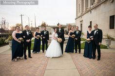 @Stambaugh Auditorium In the Garden.  Youngstown, OH Wedding Photography