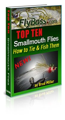 Top Ten Smallmouth Flies - I wrote this book! Learn more at: http://www.flybass.biz/products/Top-Ten-Smallmouth-Bass-Flies%3A-How-to-Tie-and-Fish-Them.html