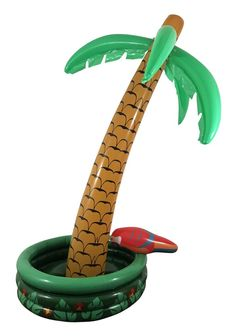 Shop Inflatable Cooler, Inflatable Palm Tree Cooler at good price. Just Inflate, fill with ice and add your favorite drinks and party beverages. Pool Party Themes, Luau Party, Pool Parties, Birthday Parties, Inflatable Cooler, Inflatable Palm Tree, Hawaiian Party Supplies, Pumpkin Carving Kits, Party Inflatables