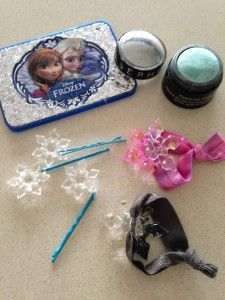Party activity-Anna and Elsa hair styles #Frozen #Fever party