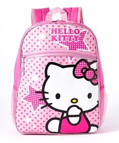 Hello Kitty Pink Stars Backpack by FAB Starpoint  zulily  zulilyfinds Pink  Stars, ff49b4e06a