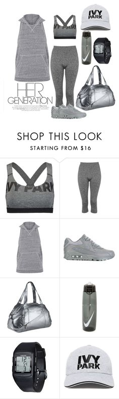 """Untitled #2032"" by mrkr-lawson ❤ liked on Polyvore featuring Ivy Park, Topshop and NIKE"