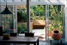 A great way to have the garden become an extension of your entertaining space.