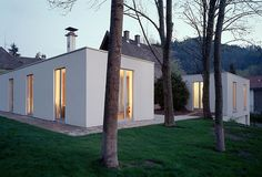 Kuehn Malvezzi - The Ungers-esque black forest house addition, Freiburg 2001…