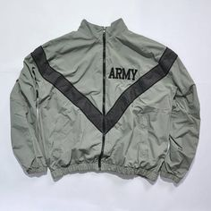 Rare Vintage JWOD SKILCRAFT ARMY Jacket, Bomber Grey and Black Jacket / Outdoor Jacket / Hip Hop / 80s / 90s Fashion Outfits // Retro Streetwear // Windbreaker // Oldschool // men // women // unisex // Rare Clothing Clothes Items // style // etsy